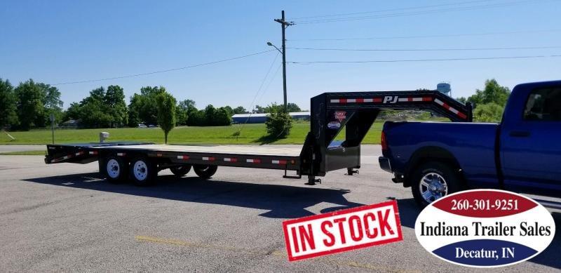 2020 PJ Trailers LS252 Equipment Trailer