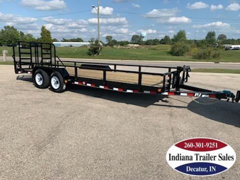 2020 PJ Trailers 83x22 CE222 Equipment Trailer