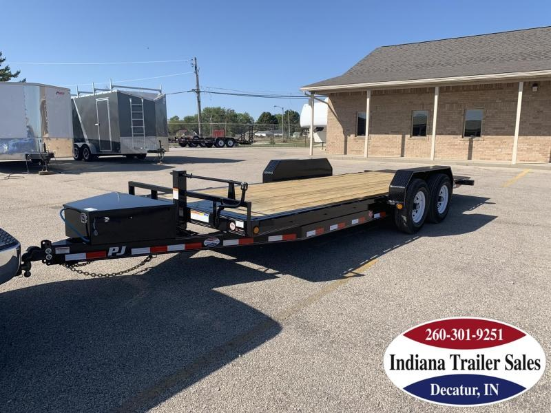 2020 PJ Trailers 83x20 TF202 Equipment Trailer - Tilt