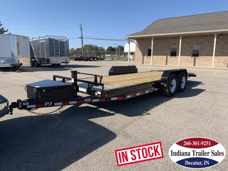 2020 PJ Trailers 83x20 TF202 Equipment Trailer
