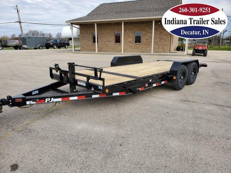 2020 PJ Trailers 83x20 T6202 Equipment Trailer Tilt