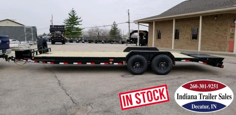 2019 PJ Trailers CC242 83x24 Equipment Trailer