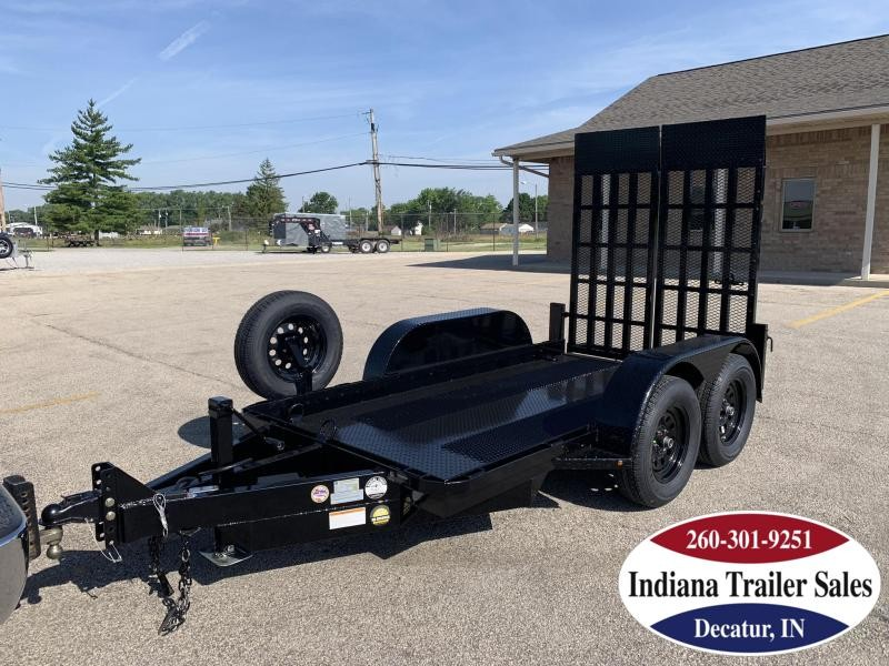 2020 Nation Tank and Trailer 5x10 Scissor Lift Equipment Trailer