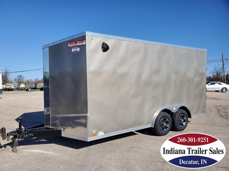 2020 Discovery Trailers 8.5x16 DCH8.516TA3 Enclosed Cargo Trailer
