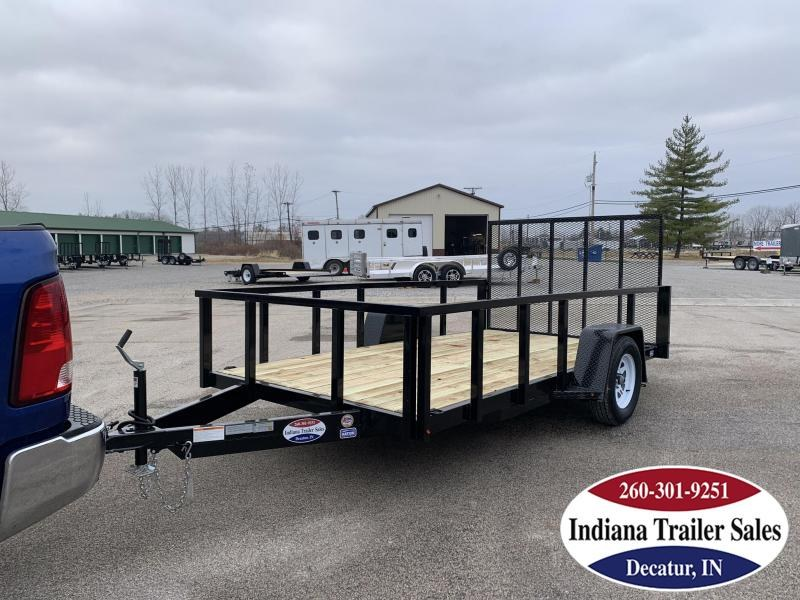 2020 Nation Tank and Trailer 6'4 X 12' Utility Trailer
