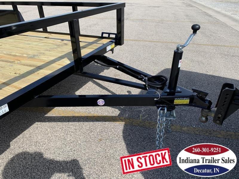2020 Quality Steel and Aluminum 6x12 - 7412AN3.5KSA Utility Trailer