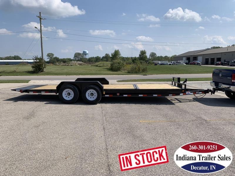 2020 PJ Trailers 83x22 T6222 Equipment Trailer Tilt