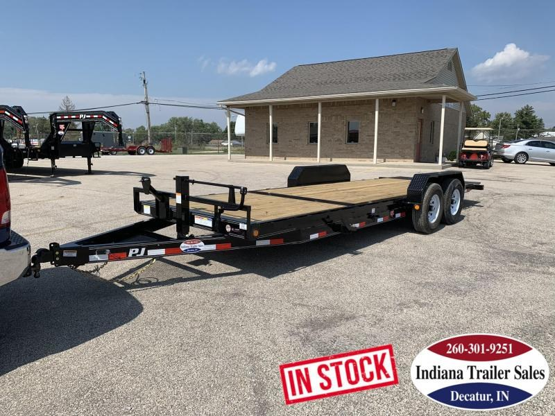 2020 PJ Trailers 83x22 T6222 Equipment Trailer Tilt