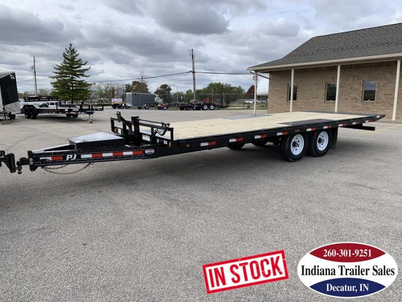 2020 PJ Trailers 96x22 T8222 Equipment Trailer Tilt