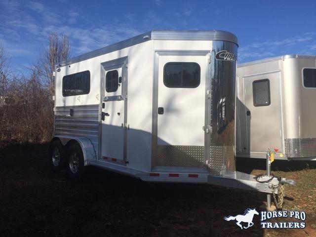 2019 Cimarron Norstar 2 Horse Straight Load Bumper Pull w/LOWER STUD PANEL