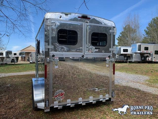 2020 Homesteader 2 Horse Slant Load Bumper Pull w/RAMP & ESCAPE DOOR