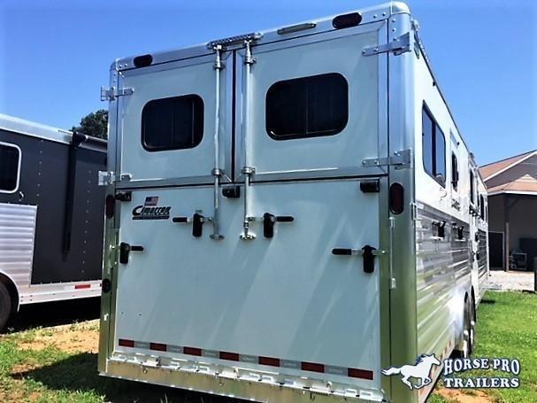 2020 Cimarron Norstar 6 Horse Head-To-Head Gooseneck
