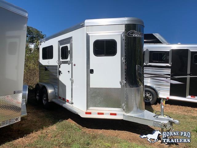 2019 Cimarron 2 Horse Straight Load Bumper Pull XL w/WERM FLOORING & LOWER STUD PANEL