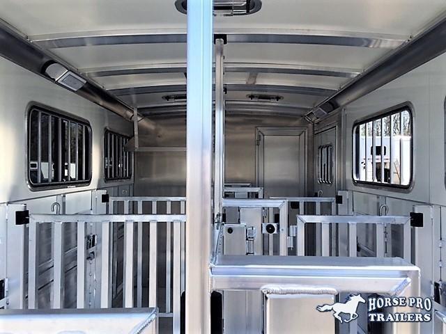 2020 Cimarron Showstar LX16'6 Low Profile Pig/Stock Bumper Pull w/DROP WINDOWS & ADJUSTABLE PENS