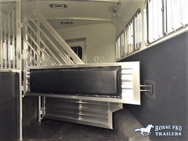 2018 Cimarron 3 Horse 10'8 Prostar by Outlaw Living Quarters w/Slide Out