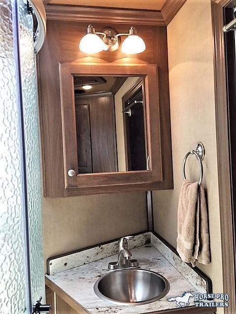 2020 Cimarron Lonestar Stock Combo 10'9 Outback Living Quarters w/Slide Out & Midtack w/Bunk Beds