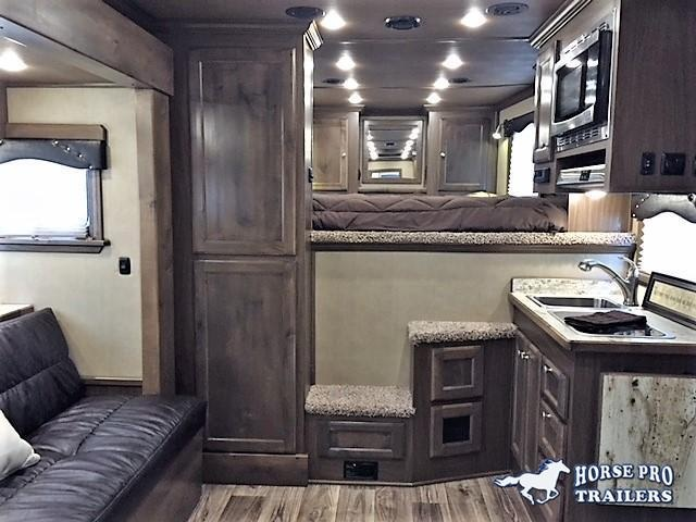 2020 Cimarron Lonestar Stock Combo 10'9 Outback Living Quarters w/Slide Out & Midtack w/Bunk Beds