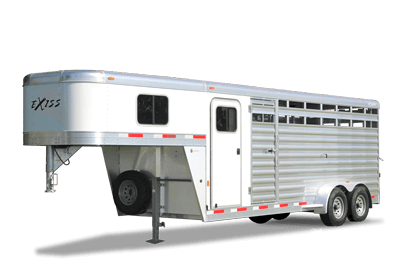 2021 Exiss 20' Stock Combo Gooseneck w/Dressing Room