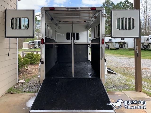 2020 Cimarron 2 Horse Straight Load Bumper Pull XL w/SIDE RAMP