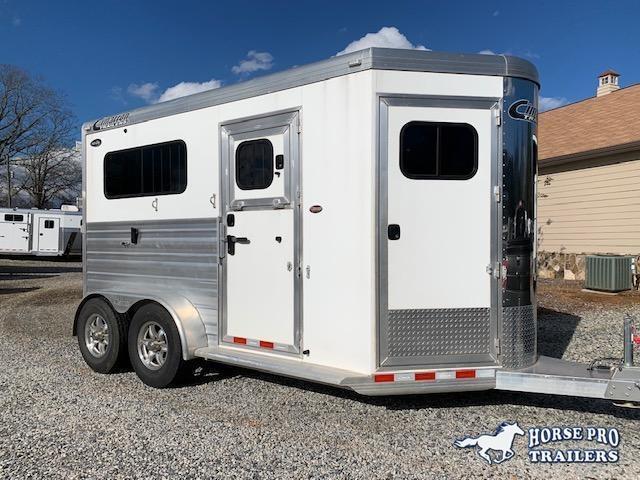 2018 Cimarron Norstar 2 Horse Straight Load Bumper Pull- JUST SERVICED!