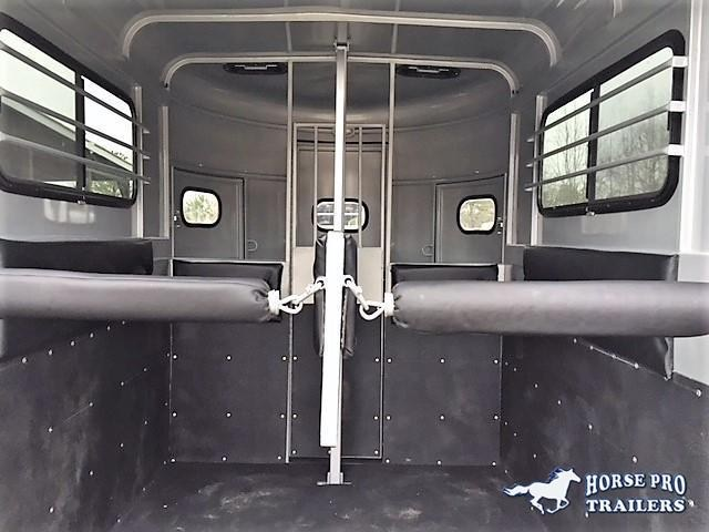 2020 Bee 2 Horse Straight Load Bumper Pull w/Walk-Thru Door