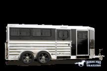 2020 Exiss Exhibitor Mini Combo 615W Livestock Trailer