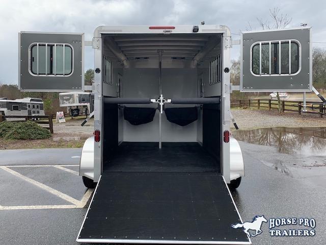 2020 Adam Ju-Lite 2 Horse Straight Load Bumper Pull