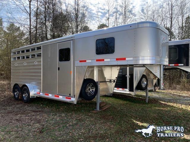 2020 Exiss CXF 3 Horse Slant Load Gooseneck- POLYLAST FLOOR!
