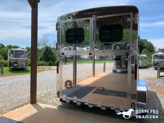 2020 Homesteader 2 Horse Straight Load Bumper Pull w/INSULATION & RUMBER FLOORING!