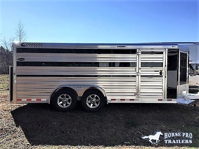 2020 Cimarron Showstar 20'6 Low Profile Pig/Stock Bumper Pull w/ADJUSTABLE PENS