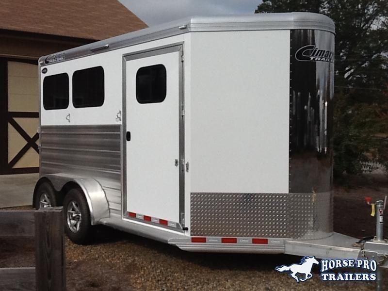 2020 Cimarron Norstar R.T.G. 2 Horse Slant Load Bumper Pull