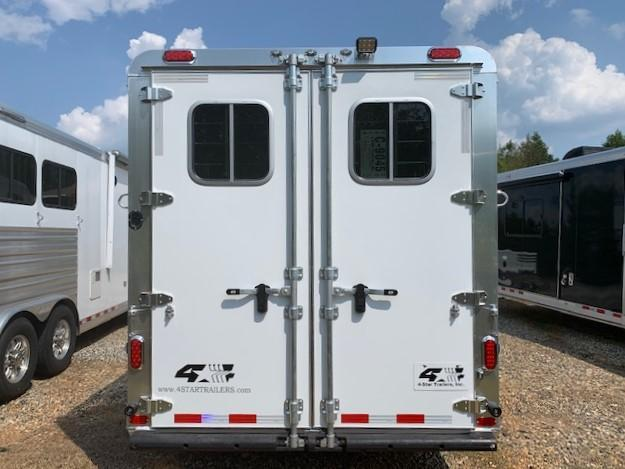 2020 4-Star 3 Horse Slant Load Gooseneck