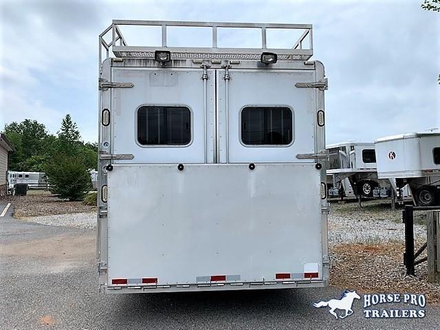 2014 Sooner 3 Horse 18'6 Sierra Living Quarters w/12' SLIDEOUT & SIDE RAMP!