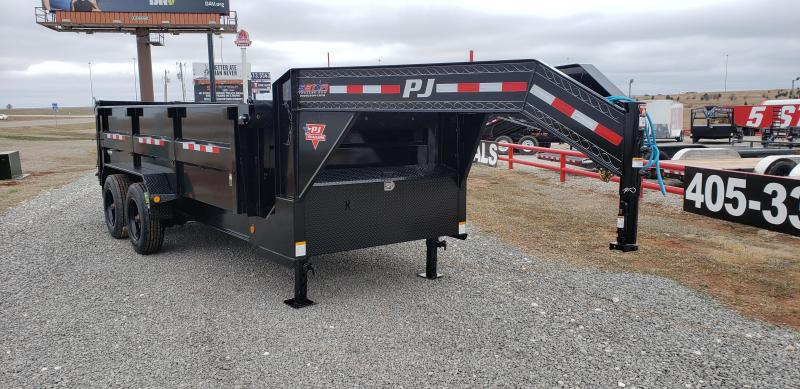 2020 PJ Trailers 16' HD Low-Pro Dump Trailer