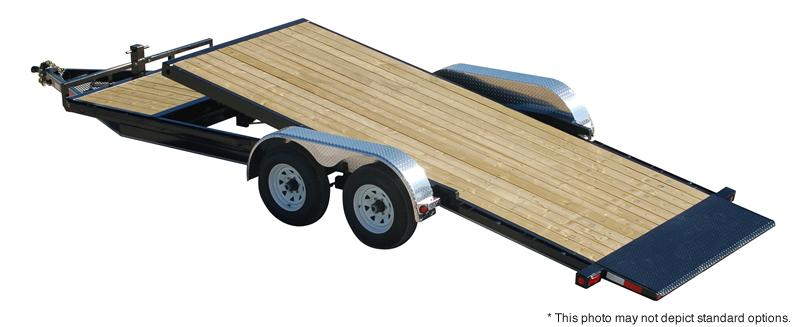"2020 PJ Trailers 18' x 5"" Channel Tilt Carhauler Trailer"