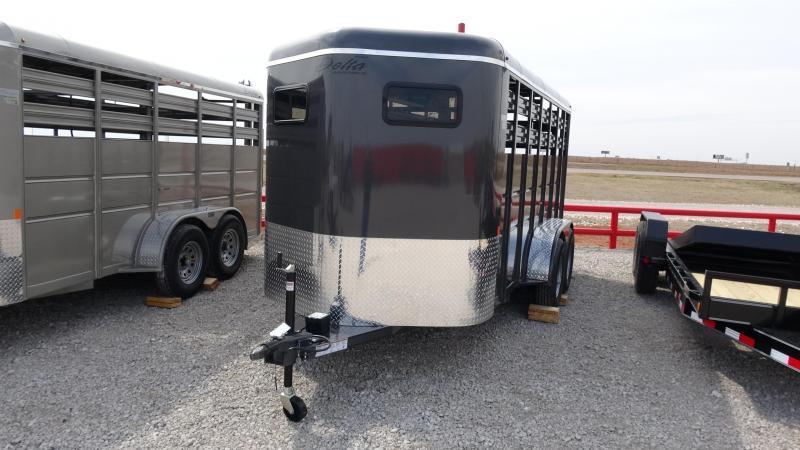 2019 Delta Manufacturing 2019 Delta 500 16 Tandem Axle BP Horse Trailer
