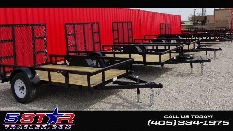 2019 5STAR Utility/ATV Trailers 10'-16' Starting @$1350