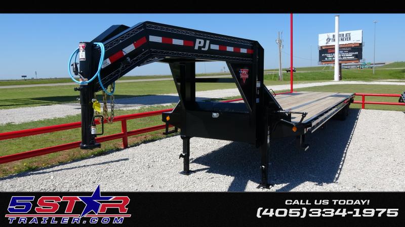 "2020 PJ Trailers 102""x40' Gooseneck  Low-Pro Air Ride (LD)"