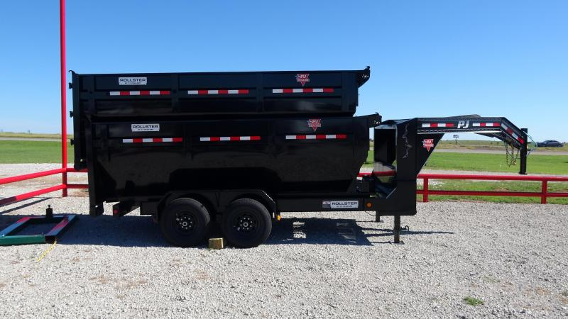 2020 PJ Trailers 14' Rollster Roll Off Dump Trailer (1 Dump Bin Inlcuded)