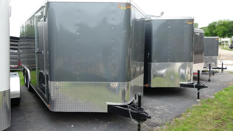2019 Doolittle Trailer Mfg 2019 20x8.5 Doolittle Bullet Series Enclosed/Cargo Trailer Gray