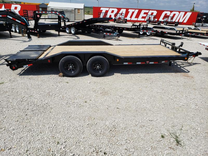 "2020 PJ 20' x 6"" Channel Super-Wide (B6) Equipment Trailer"
