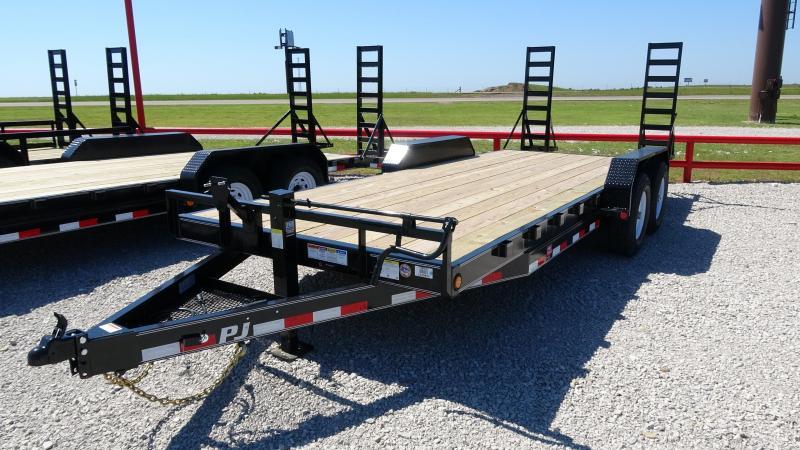 "2020 PJ 83""x20' Bumper Pull or Gooseneck 14k Equipment/Car Hauler (CC) Starting@ $5450"