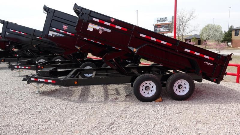 "2020 PJ Trailers DM 83""x14' Low Pro Dump Includes Tarp Kit (CL)"