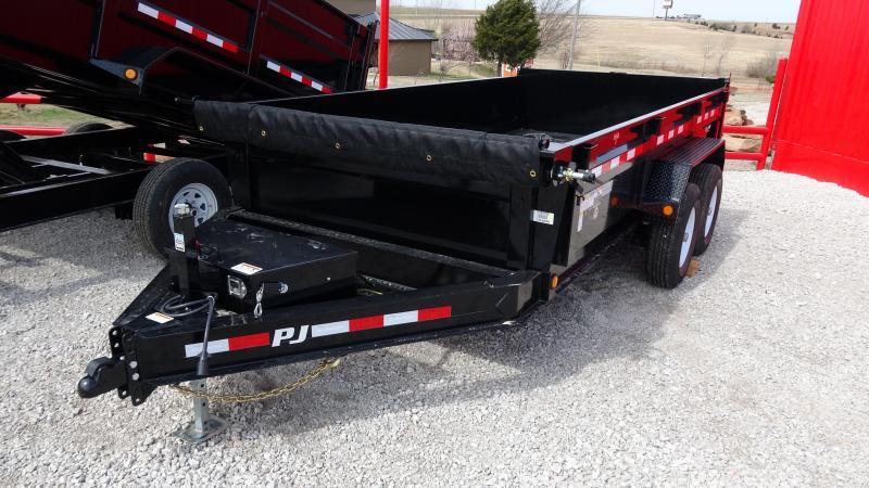"""2020 PJ Trailers DM 83""""x14' Low Pro Dump Includes Tarp Kit (CL)"""