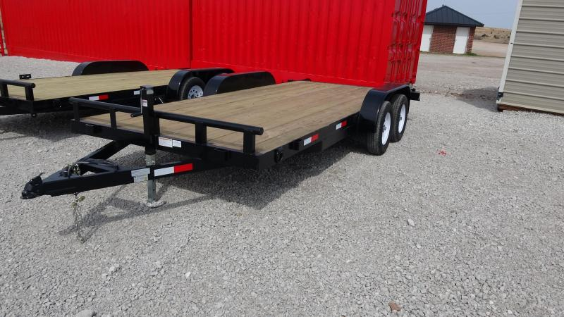 2019 5STAR Flatbed Tandem Axle 18-ft Car Hauler/Equipment Trailer (CL)