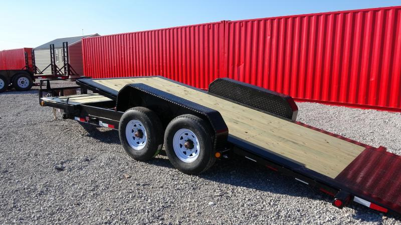 2020 PJ Tilt Trailers 20'x8' HD Equipment (TJ) with Tandem 8k Torflex Axels (10yr warranty)