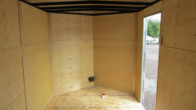 2020 AERO 7X12 V Enclosed Cargo Trailer
