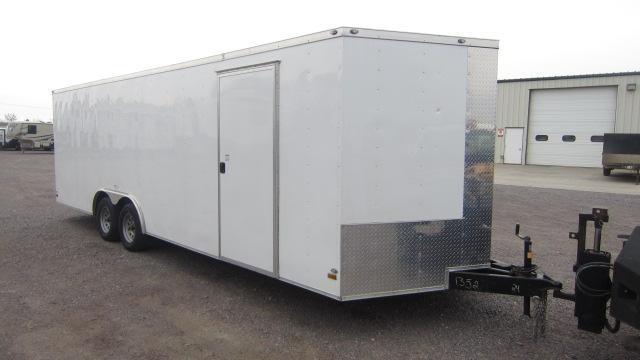 2019 Peach Cargo 8.5X24 V Enclosed Cargo Trailer