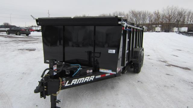 2020 Lamar Trailers 83x16 Low-Pro Dump 14K Dump Trailer