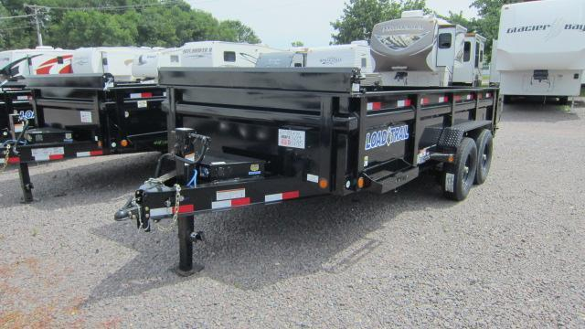 "2019 Load Trail 83""X16' Tandem Axle Dump Trailer"